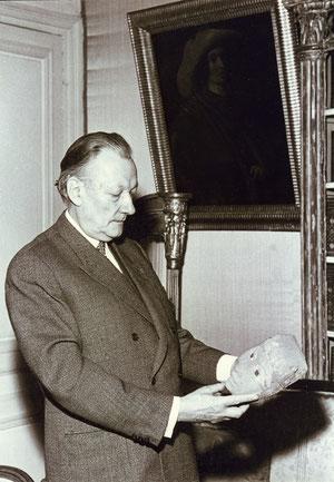René HUYGHE de l'Académie Française.