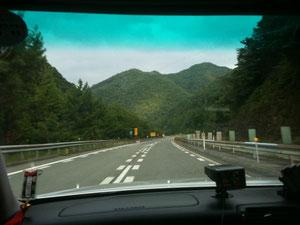 中国自動車道(広島付近)