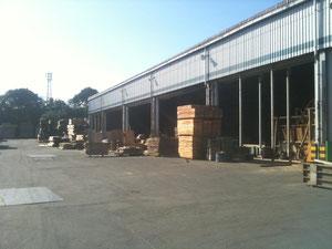 工場です。