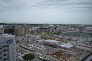 同じく富山駅周辺 建築工事もありますねえ