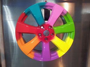 порошковая покраска дисков в тюмени недорого