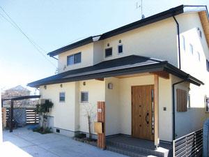 天竜材を使った家の例