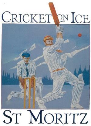 Cricket on Ice - St. Moritz