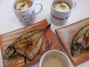 大阪兵庫で家事代行サービスの食事作りの朝食でキャベツのマグ蒸し