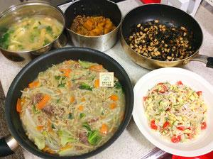 大阪兵庫で家事代行サービスで食事作り家政婦夕食作りで八宝菜