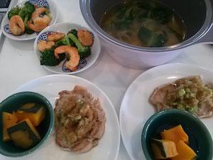 大阪兵庫で家事代行サービスの夕食作りで豚肉のおろし焼き