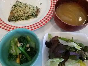 大阪兵庫で家事代行サービスの夕食作りでカレイの香草パン粉焼き