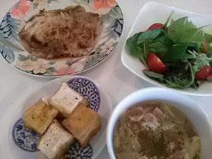 大阪兵庫で家事代行サービスの夕食作りで鶏の照り焼き