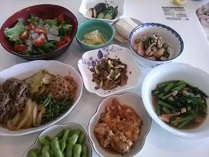 大阪兵庫で家事代行サービスの夕食作りで牛肉のすき煮