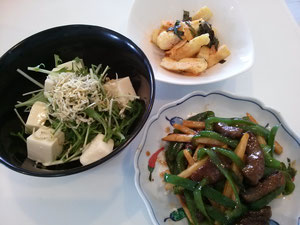 大阪兵庫で家事代行サービスの夕食作りで青椒肉絲
