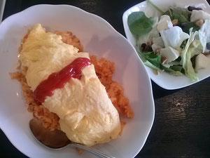 大阪兵庫で家事代行サービスの昼食作りでチキンライス