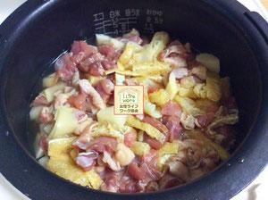 大阪・兵庫の家事代行サービスで夕食作りは筍の炊き込みご飯