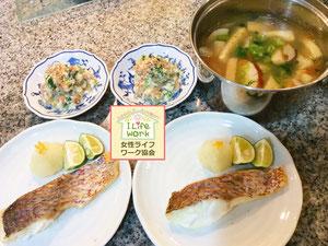 大阪兵庫で家事代行サービスで食事作り家政婦夕食2