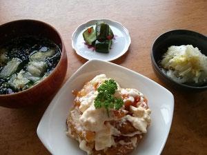 大阪兵庫で家事代行サービスの夕食作りでエビマヨ