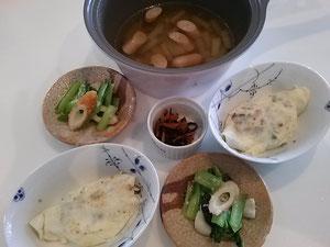 大阪兵庫で家事代行サービスの食事作りの朝食オムレツ