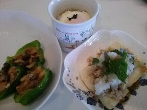 大阪兵庫で家事代行サービスの夕食作りで豚肉のピーマン詰め