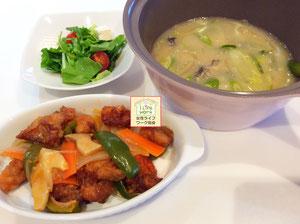 大阪兵庫で家事代行サービスの夕食作りで酢鶏