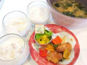 大阪兵庫で家事代行サービスの食事作りの朝食で甘麹ヨーグルト