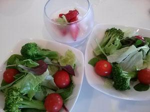 大阪兵庫で家事代行サービスの食事作りの朝食でヨーグルト