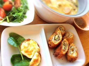 大阪兵庫で家事代行サービスの夕食作りでチーズチキン