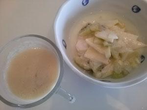 大阪兵庫で家事代行サービスの食事作りの朝食ヨグルト