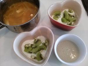大阪兵庫で家事代行サービスの朝食作りでヨーグルト