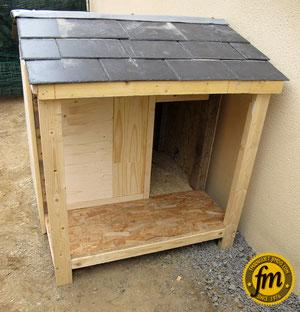Fabrication niche pour chien
