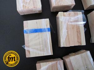 Fabrication jeux en bois (kapla)