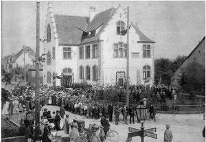 Feierlichkeiten im Jahre 1904