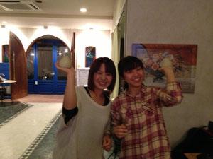 ゆかんちゃんと橋本さん。傑作ができましたね!