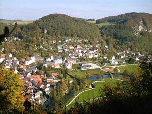 Muggendorf ~ Blick vom Frauenstein