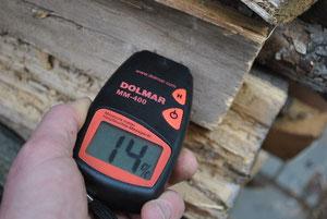 Holz Restfeuchte ok!