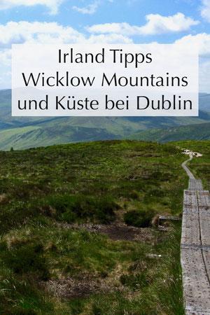 Umgebung von Dublin: Strände an der Küste, wandern in den Wicklow Mountains, Irland Urlaub. Insidertipps.
