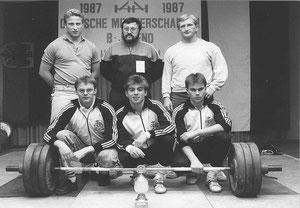 DM B-Jugend 1987 Mannschaft
