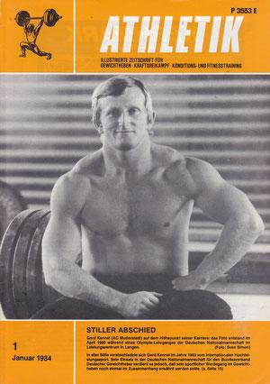 Gerd Kennel Titelblatt Athletik