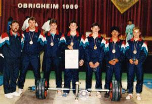 Deutscher Meister Jugend-Mannschaft 1989