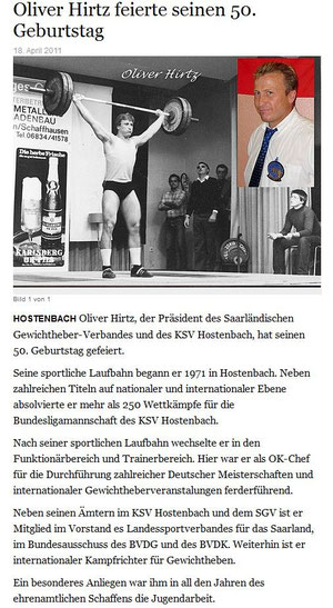 Wochenspiegel, 18.04.2011