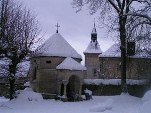 La chapelle du parc du chateau de Bourguignon-sous-Montbavin