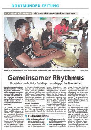 Beatattack Trommelworkshop mit Jugendlichen