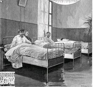 Sainte Anne - Le dortoir des agités