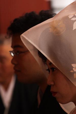 拝殿での挙式
