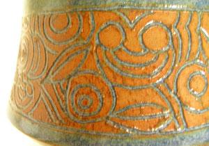 broderie de motifs floraux d'une coiffe