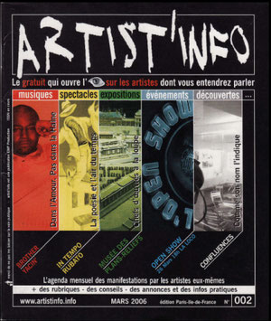 artist'info n° 002