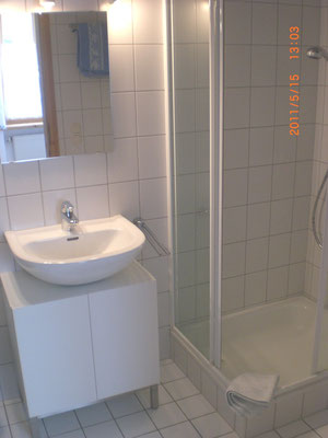 Wohnung EG, Duschbad & WC