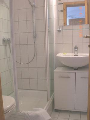 Wohnung OG, Duschbad & WC