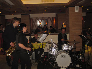 Jazzabend im Sporthotel Edelweiss am Obertauern, 14.02.2013