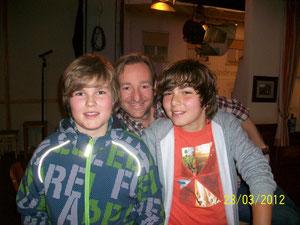 Mein Sohn mit den Schauspielern Shayan Hartmann und Gregor