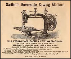 1867 Bartlett  Reversible