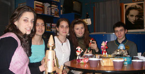 "На лекции 22.01.2011 ""раздача Буратин"""