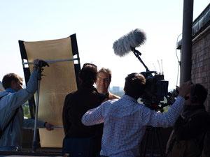 NDR Dreharbeiten Kamera: Johannes Anders